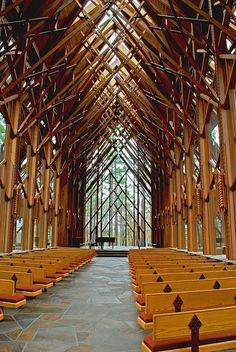 Anthony Chapel in Arkansas, gorgeous architecture.