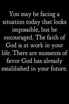 God has already established ypur future