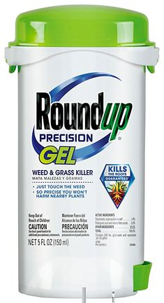 Case of 7 Bottles - RoundUp Precision Gel Weed & Grass Killer 5 oz in Each Diy Pest Control, Weed Control, Garden Weeds, Lawn And Garden, Design Thinking, Home Design, Electric Tiller, Weed Killer Homemade, Green Lawn