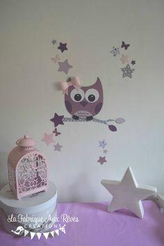 lot 3 coussins thème ange étoiles parme mauve violet argent gris ...