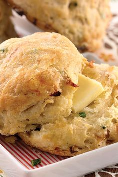 Caramelized Onion Sourdough Biscuits Recipe