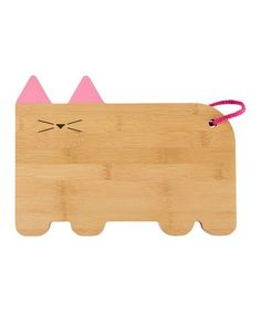 Look what I found on #zulily! 10.5'' x 7.5'' Cat Cheese Cutting Board #zulilyfinds