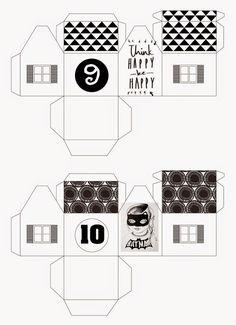 mixtum design: Letos s předstihem . Advent, Floor Plans, Coding, Design, Floor Plan Drawing, Programming, House Floor Plans