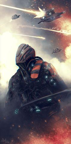 Science Fiction Art bySHAHAB ALIZADEH