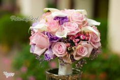 bukiet ślubny, bukiet dla Panny Młodej, róże