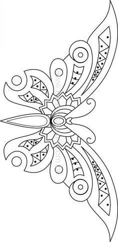 Awesome Most Popular Embroidery Patterns Ideas. Most Popular Embroidery Patterns Ideas. Beaded Embroidery, Embroidery Stitches, Hand Embroidery, Embroidery Designs, Butterfly Embroidery, Bead Embroidery Patterns, Knitting Patterns, Stained Glass Patterns, Mosaic Patterns