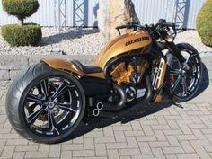 Harley Davidson V Rod Luxury by No Limit Custom Harley Davidson Night Rod, Harley Davidson Custom Bike, Harley Davidson Motorcycles, Custom Motorcycles, Vrod Custom, Custom Harleys, Harley V Rod, Harley Bikes, Custom Street Bikes
