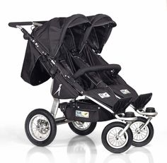 Twinner Twist Duo Double Stroller and accessories