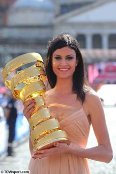 Image result for podium girl @ 92nd giro d'italia