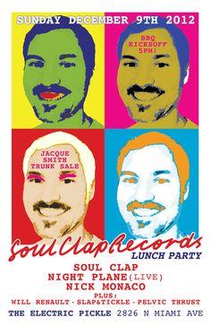 Soul Clap Records Launches!