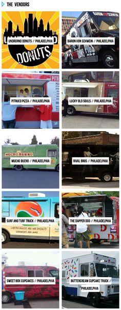 List of Philadelphia Food Trucks
