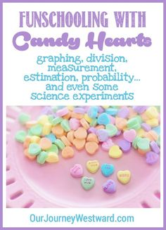Your children will have so much fun with these candy heart lessons! They are appropriate for elementary and middle school students and include plenty of STEM ideas. Math and science were never so much fun! Valentines Day Activities, Valentine Day Crafts, Valentine Ideas, Homeschool Math, Homeschooling, Lesson Planner, Stem Learning, Teaching Math, Love