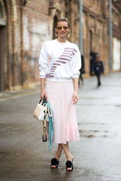 Aussie Affair: Street Style  - HarpersBAZAAR.com