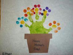 Muttertag Blumentopf