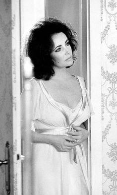 Movie Icon Elizabeth Taylor, 1973