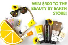 So check this out, Beauty By Earth is giving away a $500 to their store. It's free to enter, free to win, and you get more chances to win by sharing. If you've never heard of Beauty By Earth, you should check them out here: http://www.beautybyearth.com