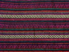 Stoff Streifen - Jacquard bunt gewebt - ein Designerstück von Textil-Aktuell bei DaWanda
