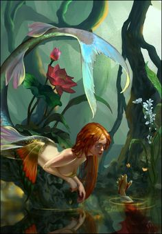 Mermaid by Emiroth . | Fantasy | 2D | CGSociety