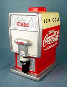 Coca-Cola Fountain Cookie Jar