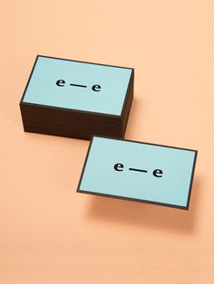 el estudio™ — business cards by el estudio™ , via Behance
