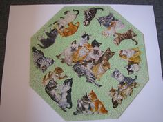 Springbok Vintage Octagon Jigsaw Puzzle Kittens Complete PZL8018 #Springbok