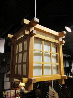 Soho Oriental Ceiling Lamp with Natural Finish In line on /off switch Japanese Woodworking, Woodworking Ideas, Asian Lamps, Small Backyard Patio, Oriental Design, Ceiling Lamp, Soho, It Is Finished, Table Lamp