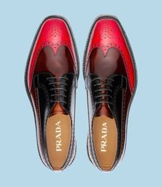Prada.  Men's fashion is so awesome. They can rock it with just a few signature pieces but sometimes some flair will go a long way!