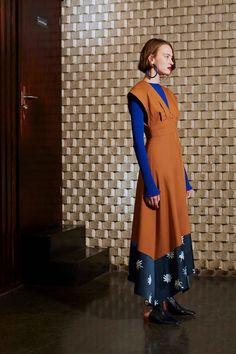 See the complete Roksanda Pre-Fall 2017 collection.