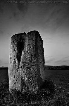 Prehistoric rock art, Ardmore, Co. Donegal, Ireland - Ken Williams