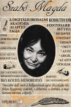 You searched for Szabó magda - Papírsárkány Blog