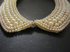 Vintage Pearl Collar. $26.50, via Etsy.