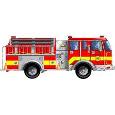 36 Awesome Fire Truck Clipart Images Clipart Pinterest