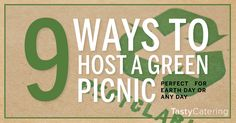 """When hosting a company party, there are so many ways to incorporate """"go green"""" party ideas, this season especially. Here are great company summer party ideas—great green company party ideas. Company Party, Company Picnic, Green Companies, Green Party, Event Themes, Summer Parties, Picnics, Corporate Events, Party Planning"""