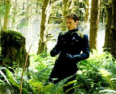 yeunis:Anton Yelchin in Star Trek Beyond B-Roll