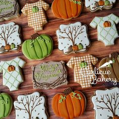 Fall themed baby shower! Congratulations mommy! I loved making these. #fall #happyfallyall #pumpkineverything #woodgrain #pumpkin #babyshower #babycookies #decoratedcookies #customcookies #houston #edibleart #food #dessert #eatdessertfirst