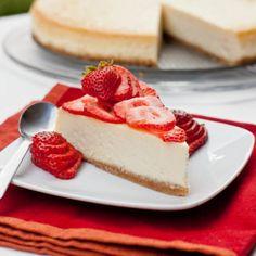 NY Cheesecake with Strawberries | Tasty Kitchen: A Happy Recipe Community!