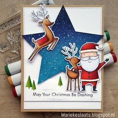 9 More Easy Homemade Christmas Cards with Step by Step Instructions – DIY Theory Dyi Christmas Cards, Noel Christmas, Christmas Ideas, Easy Christmas Drawings, Xmas Elf, Cricut Cards, Winter Cards, Scrapbook Cards, Scrapbooking