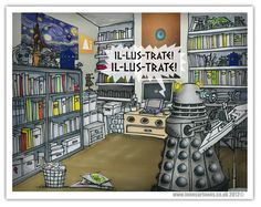Day 202: A Dalek Illustrator | The Daily Dalek