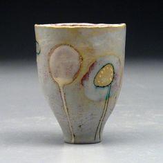 "Anna Stoysich  Cup 2, 2007  earthenware  4.5""X3""X3.5"""
