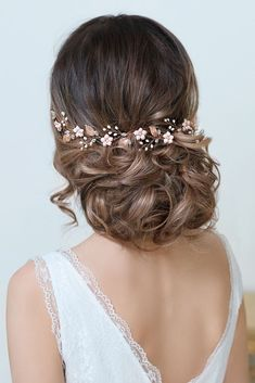 Blush Bridal Headpiece Rose Gold Wedding Hair Vine Blush Bridal Flower Crown Rose Gold Flowers Wedding Headband Blush Bridal Hair Piece - Blush Bride Headpiece Rose Gold Wedding Hair Vine Blush You are in the right place about wedding vow - Wedding Headband, Bridal Hair Vine, Bridal Headbands, Handmade Headbands, Wedding Updo, Floral Crown Wedding, Gold Wedding, Bridal Crown, Floral Crowns
