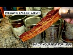 Canned Bacon, Pressure Canning, Coming Out, The Creator, Blessings, Charity, Prepping, Families, Freedom