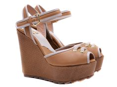 Luxury shoes from category Wedges-LOU sandals - SHOES