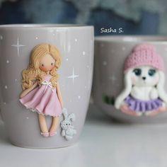 Translucent Porcelain Royalton China Co Polymer Clay Figures, Cute Polymer Clay, Polymer Clay Dolls, Polymer Clay Miniatures, Polymer Clay Projects, Polymer Clay Creations, Porcelain Clay, Cold Porcelain, Ceramic Clay