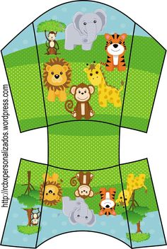 Jungle Party, Safari Party, Safari Theme, Jungle Theme, Lion Birthday Party, Baby Birthday, Lion King Party, Bookmarks Kids, Baby Shower Fun