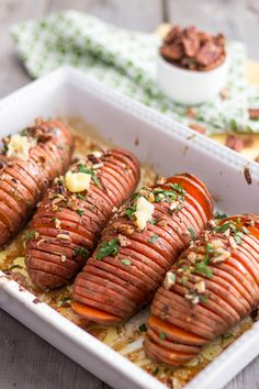 Hasselback Sweet Potatoes | by Sonia! The Healthy Foodie @Sonia S S! The Healthy Foodie