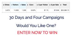 This campaign is worth $10,000's if you have a product or a info product to sell you need to take part in this contest