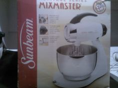 SunBeam Mixer in Tiffany's Garage Sale in Avondale , AZ for $25.00. SunBeam Mixer in the box and never been used