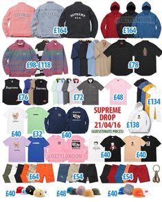 Supreme Week9  DM ANB for PreOrders:http://www.anothernikebot.com/?ap_id=lindaclothing Size Medium - XL