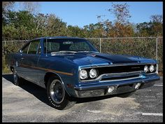 1970 Plymouth Road Runner  440 Six Pack, Automatic