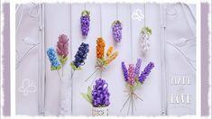 Fiore in feltro 3 in 1: lavanda, giacinto & glicine - YouTube